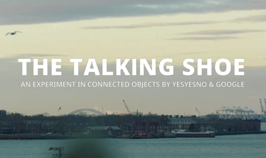 TALKING-SHOE